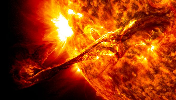 Explosion On The Sun