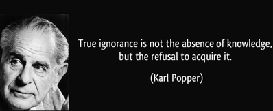Popper's Formulation of Scientific Knowledge: A shift from an inductivist account.